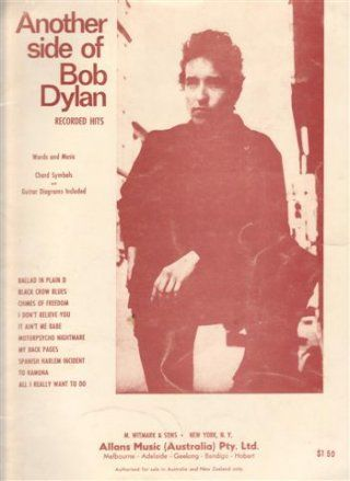 Another Side Of australia bob dylan songbook