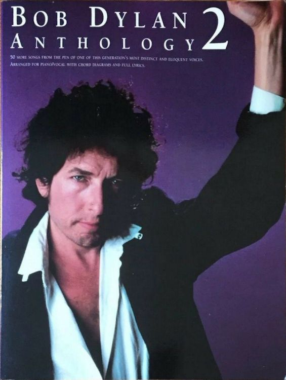 bob dylan anthology music sales corporation songbook