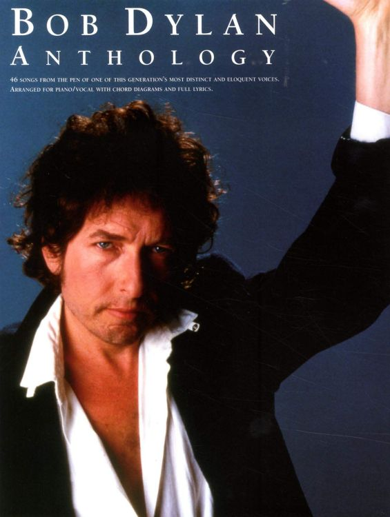 bob dylan anthology amsco 1990 songbook