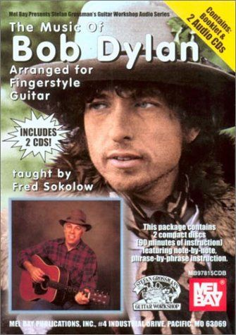bob dylan arranged for fingerstyle guitar 2001 songbook