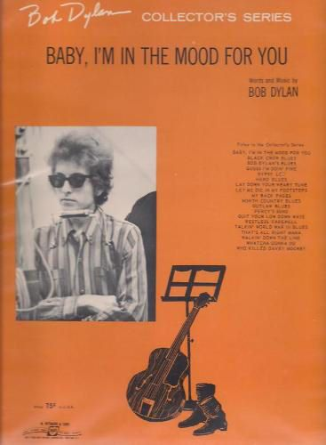 bob dylan babe i'm in the mood for you sheet music