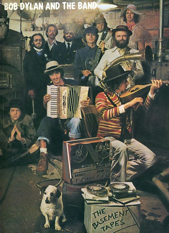 bob dylan The Basement Tapes USA, Ram's Horn Music songbook