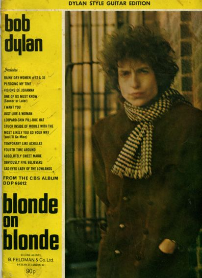bob dylan blonde on blonde Feldman Ltd. UK songbook