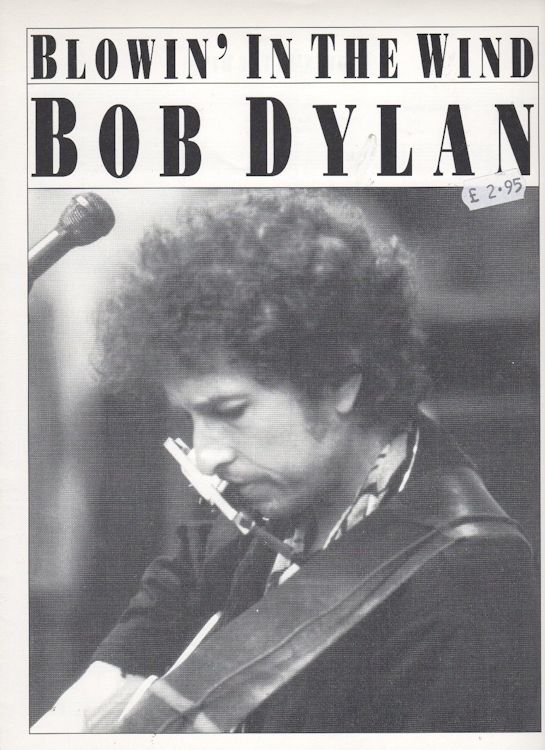 bob dylan blowin' in the wind amsosheet music