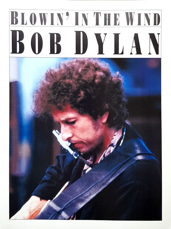 bob dylan blowin' in the wind usa music sales sheet music