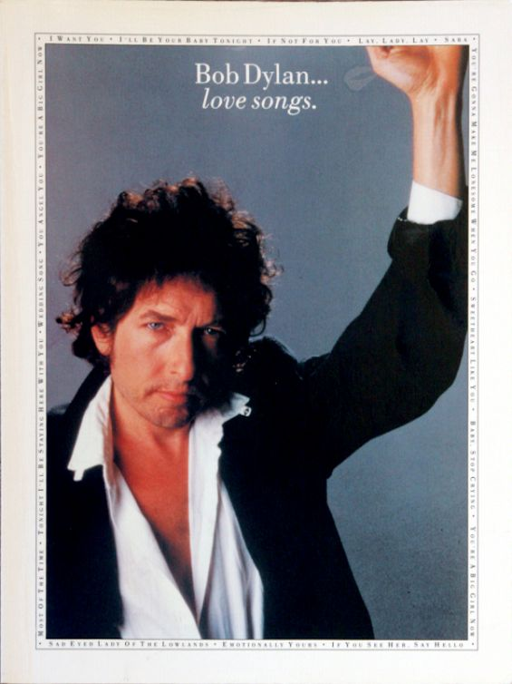 bob dylan love songs songbook