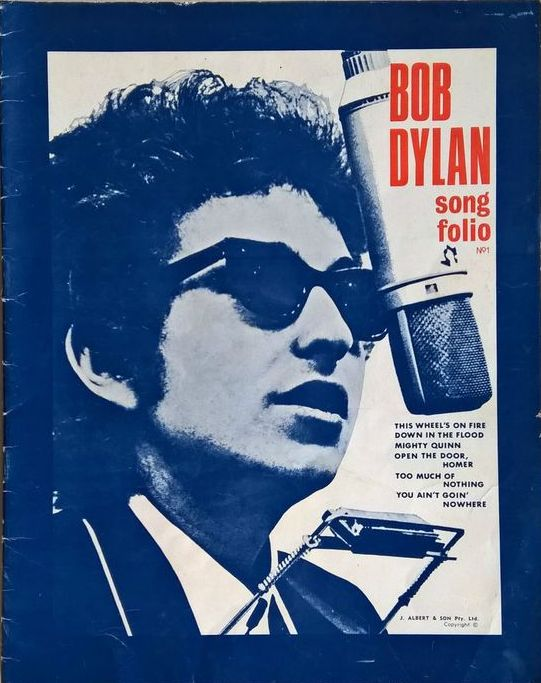 bob dylan Song Folio songbook