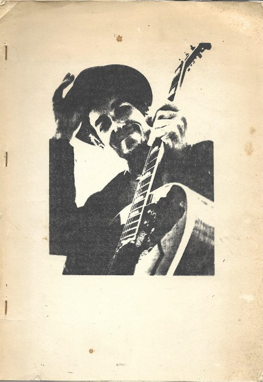 Bob Dylan Songbook bootleg lyrics from BOB DYLAN to NASHVILLE SKYLINE red cover
