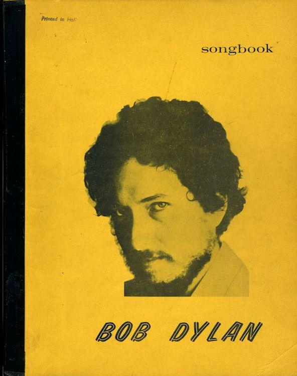 Bob Dylan Songbook bootleg lyrics from BOB DYLAN to 