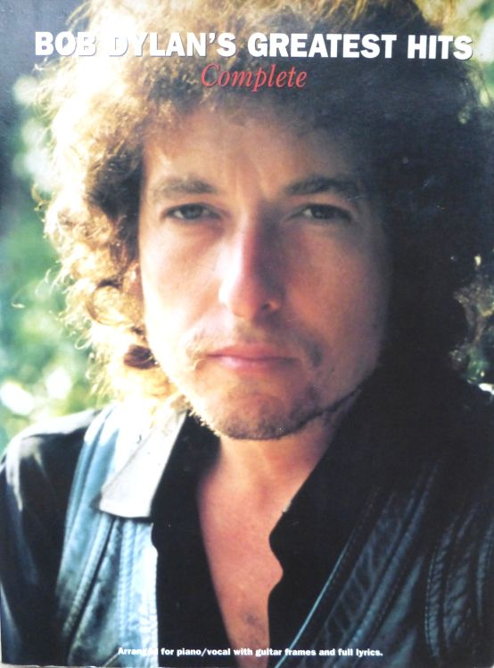 bob dylan Greatest Hits Complete songbook