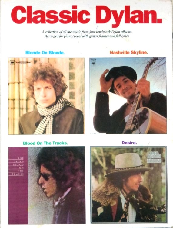 classic dylan songbook