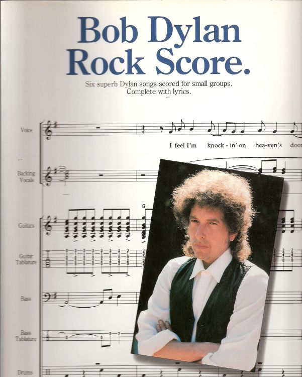 bob dylan Rock Store songbook
