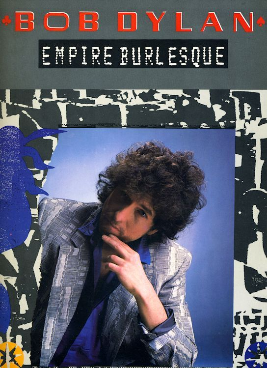 bob dylan Empire Burlesque songbook