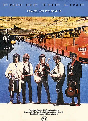 Traveling Wilburys End Of The Line Sheet Music UK booklet