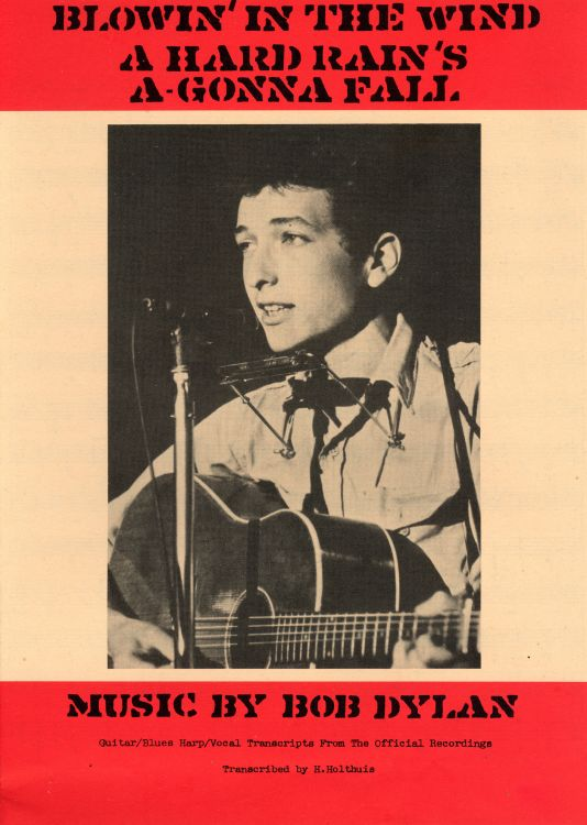 hard rain's a gonna fall exact bob dylan sheet music