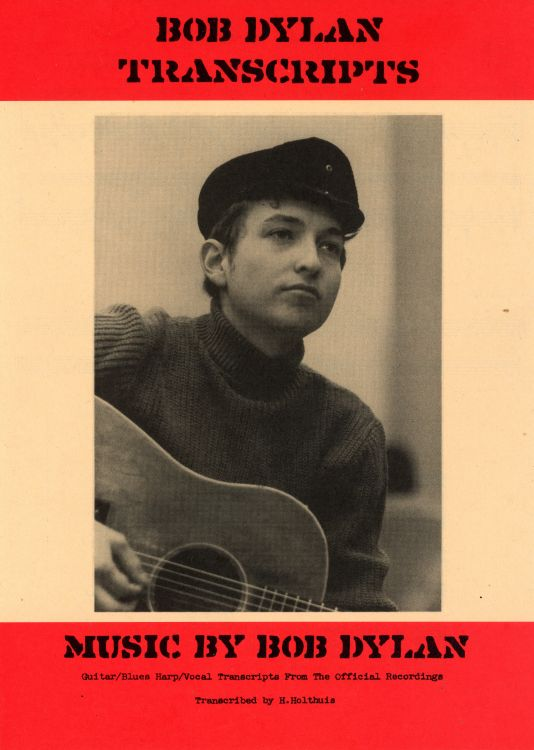 bob dylan exact & accurate transcripts sheet music