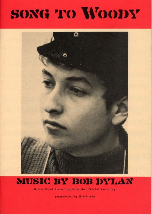 bob dylan song to woody exact & accurate sheet music