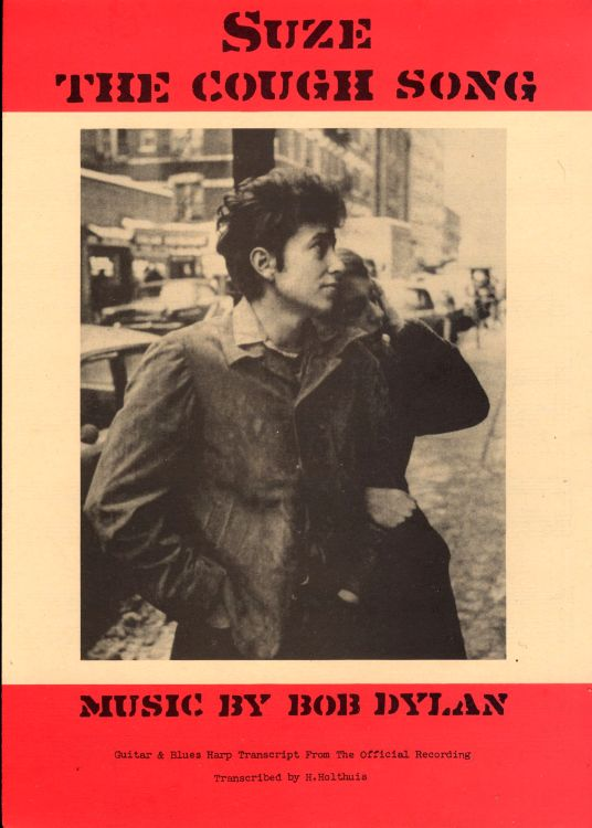 bob dylan the cough song exact & accurate sheet music