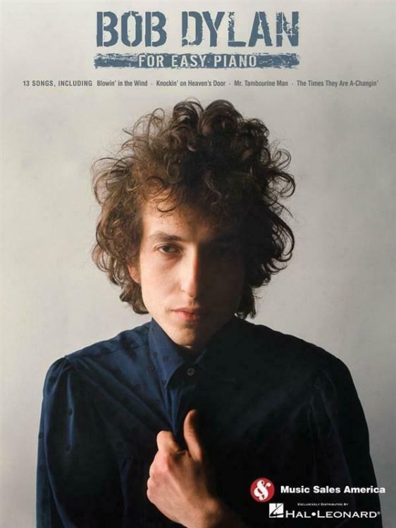 bob dylan For Easy Piano songbook