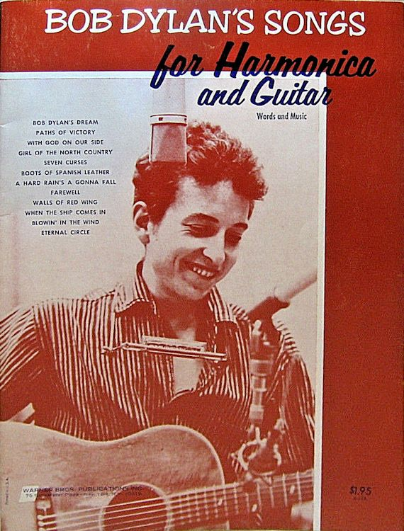 songs for harmonica and guitar warner bob dylan songbook