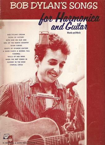 songs for harmonica and guitar witmark bob dylan songbook