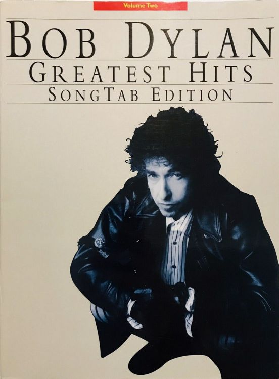 bob dylan Songtab edition Amsco Publications volume 2 songbook