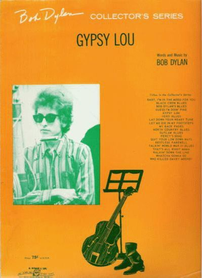 bob dylan gypsy lou sheet music