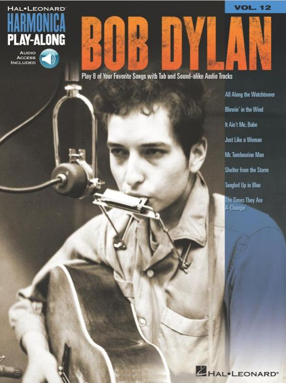 harmonica play along bob dylan songbook
