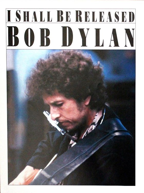 bob dylan i shall be released sheet music