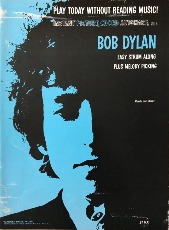 bob dylan Instant Picture Chords Instant Picture Chord Autoharp songbook