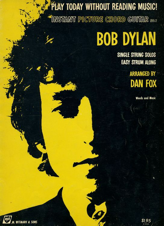 bob dylan Instant Picture Chords Instant Picture Chord Guitar N�2 songbook