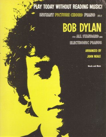 bob dylan Instant Picture Chords Instant Picture Chord Piano N°1 songbook
