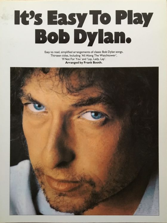 It's Easy To Play bob dylan songbook