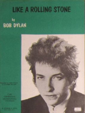 bob dylan like a rolling stone sweden sheet music