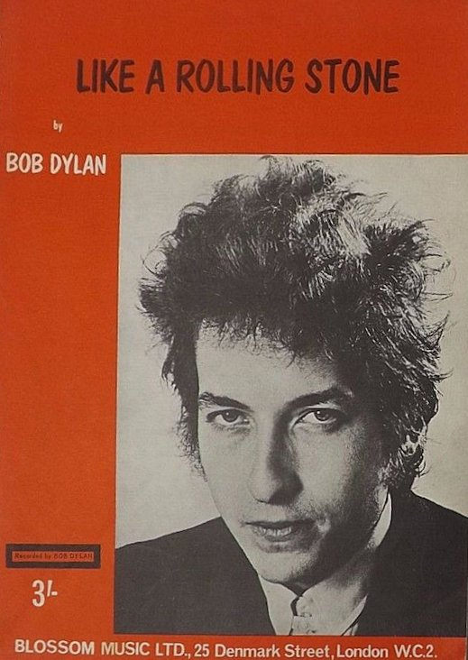 bob dylan like a rolling stone blossom uk sheet music