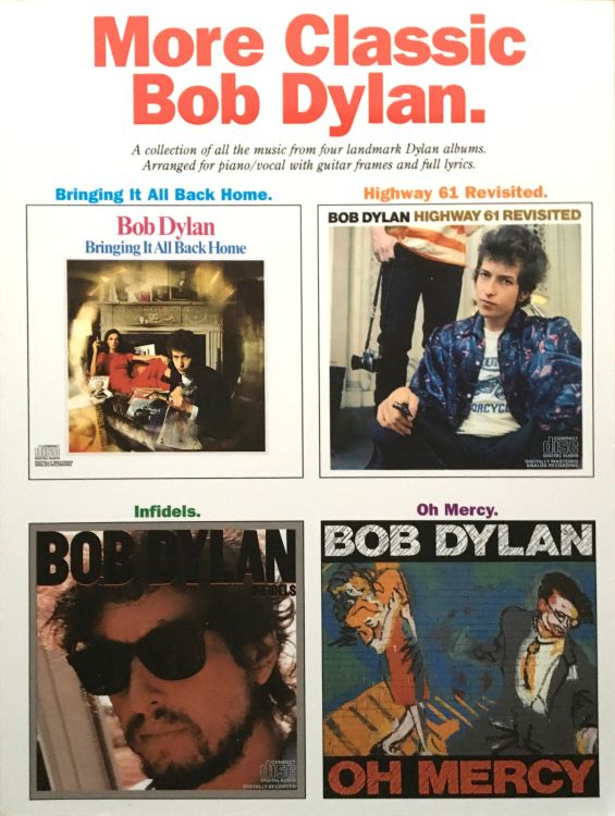 More Classic bob dylan songbook
