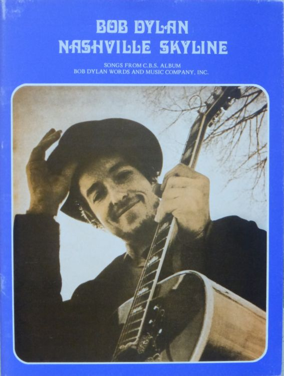 bob dylan nashville skyline UK, EMI Publishing Ltd songbook