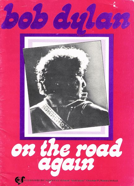 bob dylan on the road again sheet music