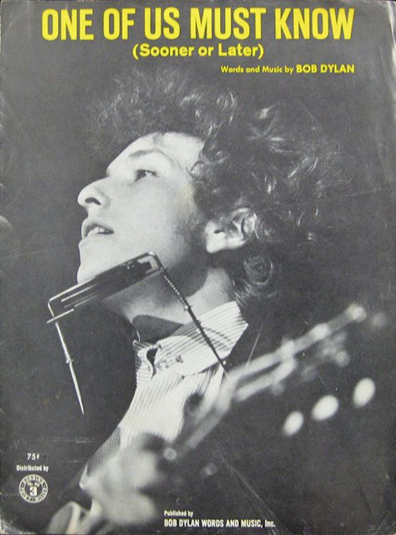 bob dylan one of us must know sheet music