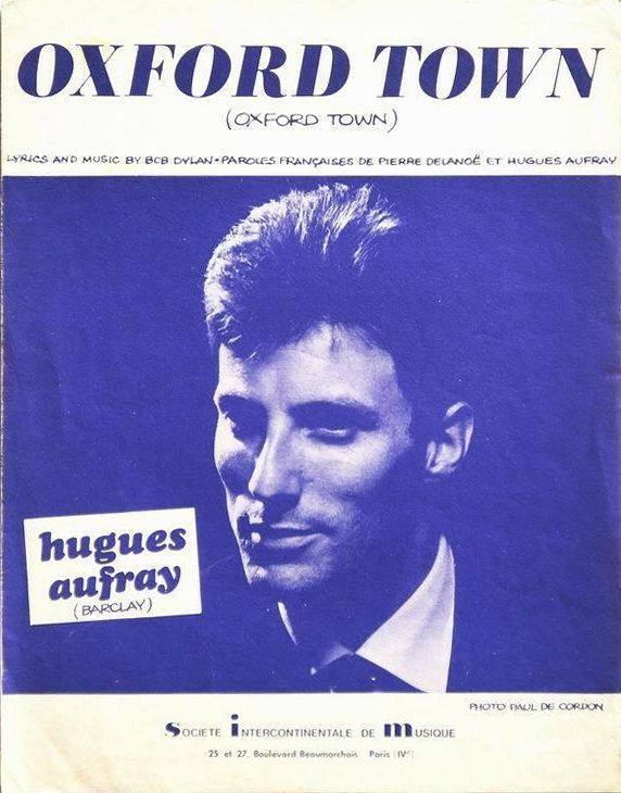 bob dylan oxford town aufray sheet music
