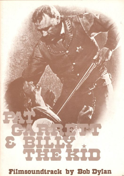 bob dylan Pat Garrett And Billy The Kid germany songbook