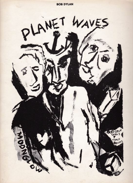 bob dylan Planet Waves australia songbook
