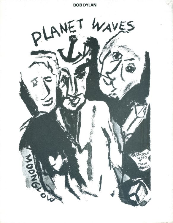 bob dylan Planet Waves Ram's Horn Music songbook