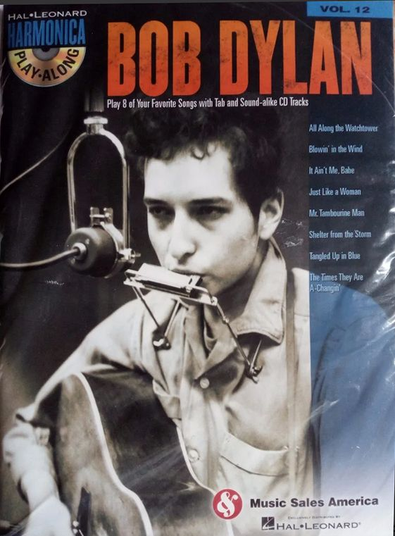 bob dylan Play Along vol.12, Music Sales America songbook