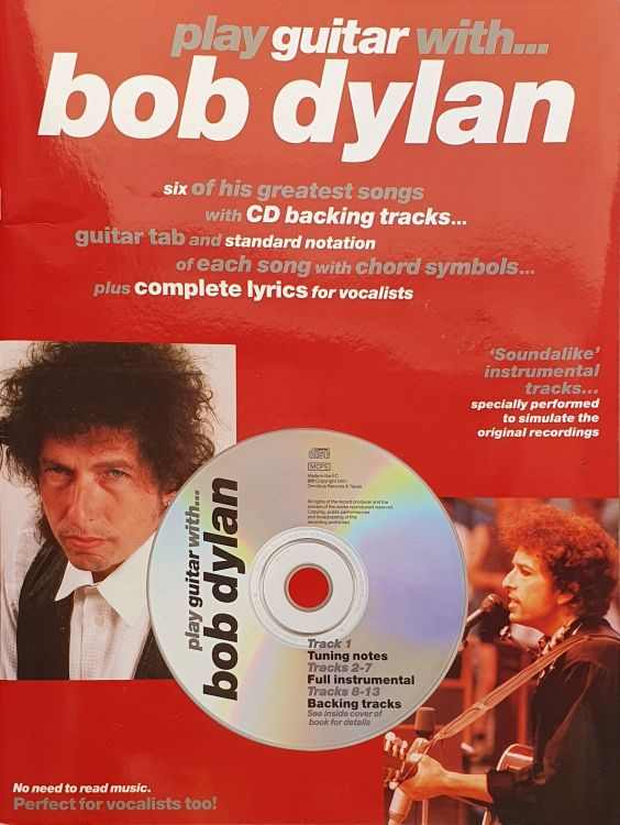 play guitar with bob dylan songbook