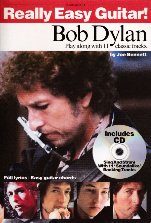 bob dylan Really Easy Guitar! songbook