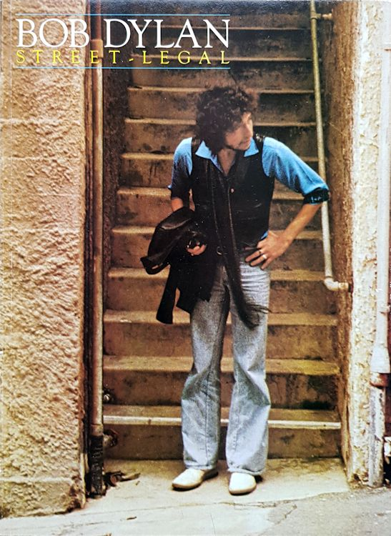 bob dylan Street Legal songbook