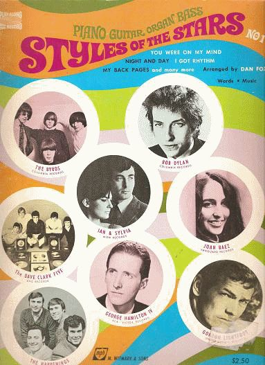 bob dylan Styles Of The Stars songbook