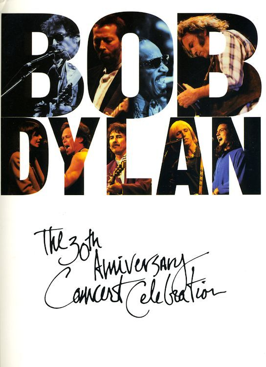 bob dylan The 30th Anniversary Concert Celebration songbook
