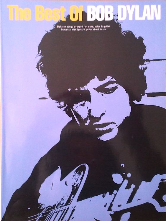 The Best Of Bob Dylan 1997 songbook